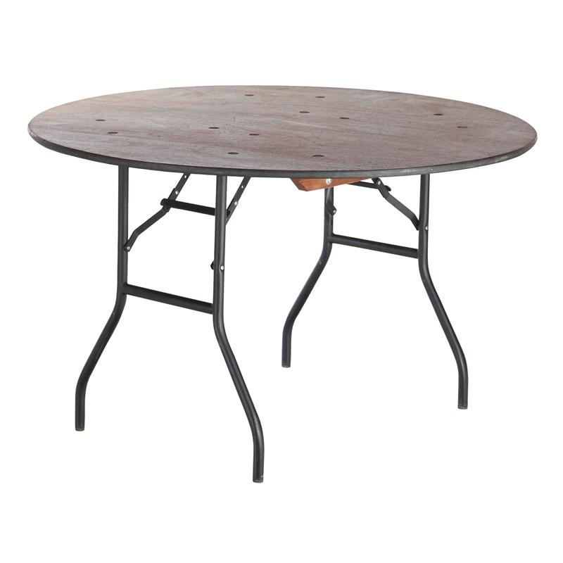 Udlejning af rundt bord ø 120 cm.