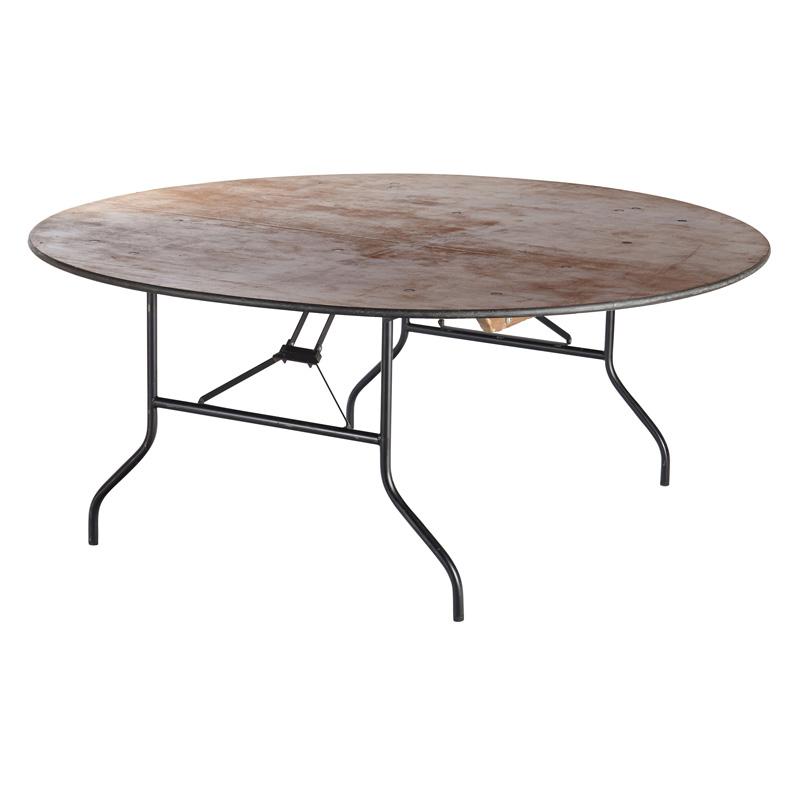 Udlejning af rundt bord ø 180 cm.